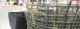 Trådkorg i butik